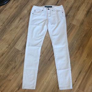 Denim - White skinny jeans - Size 3